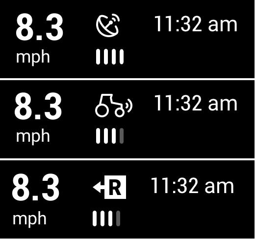 speed connectivity icon screencap