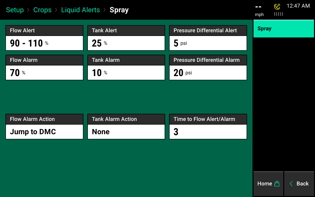 Liquid alerts screencap 2