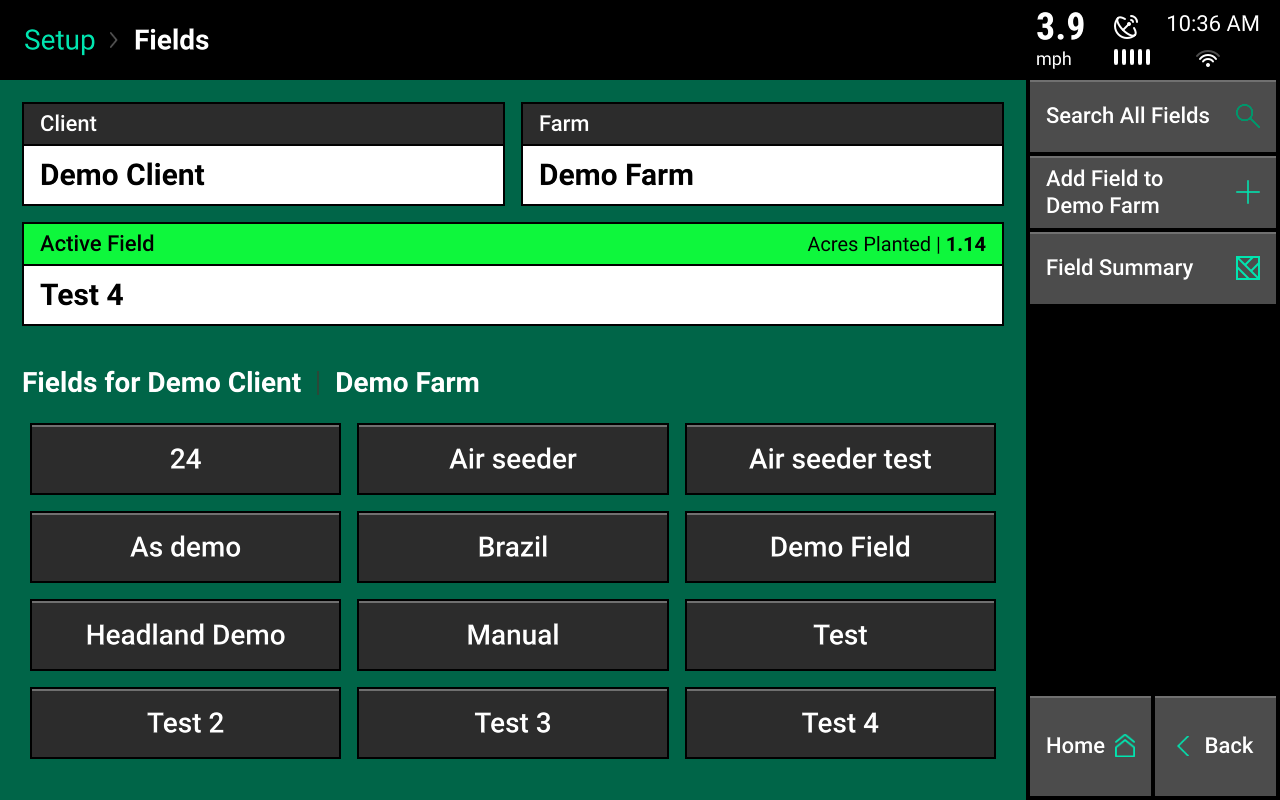 fields menu screencap
