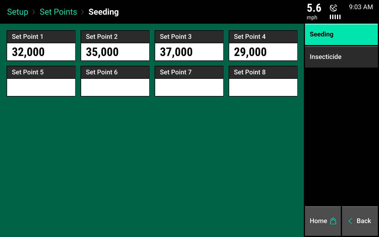 Seeding set points screencap